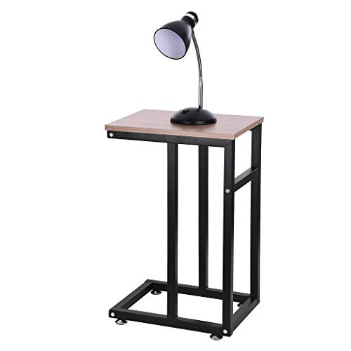 Multifunctional Bedside Table, Coffee Table, Living Room End Table, Furniture Tea Table, Fulijie Home Dining Table, Chair Side Table Night Stand Desk 22.0 x 14.2 x 23.6 Inch (LWH) (Brown)