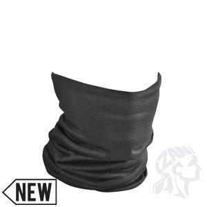 Zan Headgear Unisex Standard Fleece-Lined Motley Tube Neckgaiter, Black, One Size