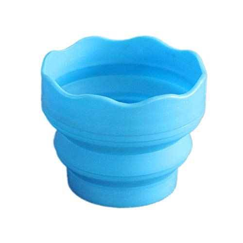 Chris.W Collapsible Paint Brush Washer with Brush