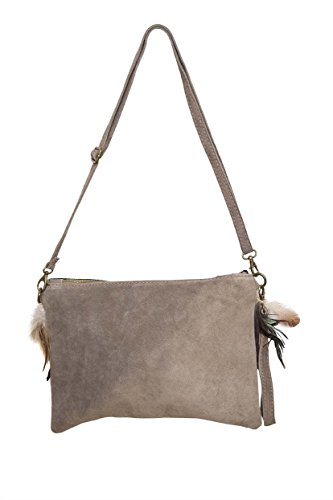 Ateliers Florentins, Borsa a tracolla donna taupe