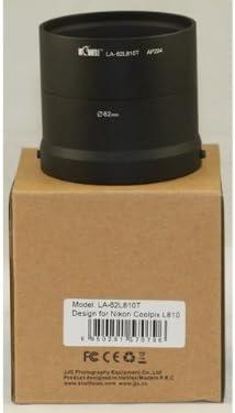 Metal Lente/Filtro Adaptador Tubo para Nikon Coolpix L810, L820 ...