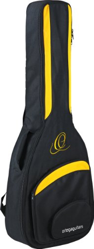 Ortega Guitars OABB Deluxe Professional Acoustic Bass Gig Bag with Thick Padding ()