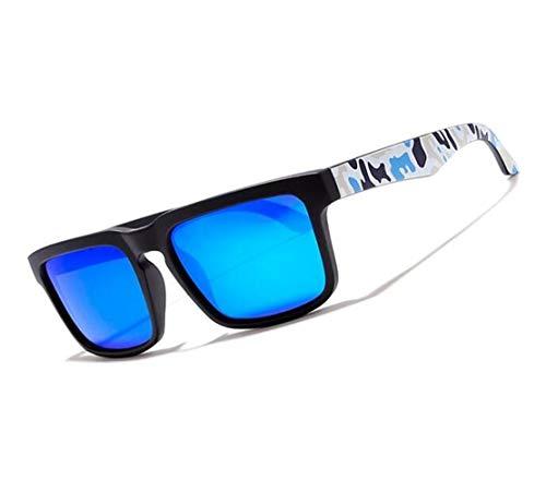 UV400 al sol ciclismo para Protección Guay libre Gafas Unisex deportivas polarizadas Gafas moda de Black aire de viajar de Huyizhi v1Aqwx6q