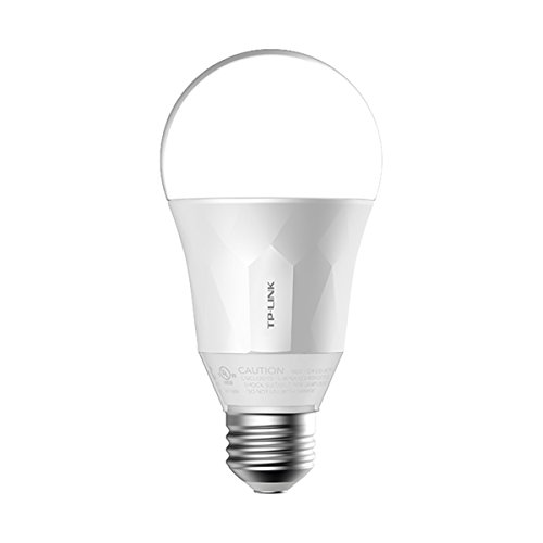 TP-Link LB100 Wi-Fi SmartLight 7W E27 to B22 Base LED Bulb (Off-White) Compatible with Android, iOS, Amazon Alexa and…