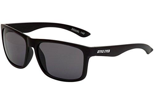 Style Eyes Optics Style Eyes Hip-Hop7 Sunglasses, Matte - Eye Styles Black