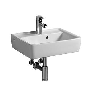Keramag Renova Nr1 Plan Waschtisch 550x440 Mm Mit Hahnloch Und