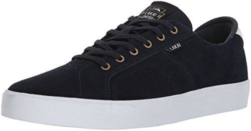 Price comparison product image Lakai Flaco,  Navy / White Suede,  10 Medium US
