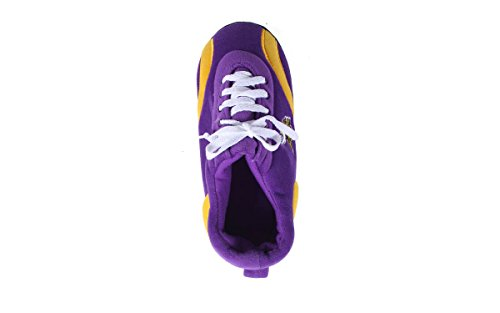 Happy Feet & Comfy Feet - OficialHombreste Con Licencia Para Hombre Y Para Mujer Nfl All Around Slippers Minnesota Viking