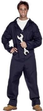 Desconocido Disfraz de mecánico para hombre: Amazon.es ...