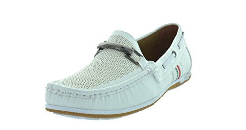 Bruno HOMME MODA ITALY COLE-22 Men's Classy Slip On Loafers New Casual Moccasins