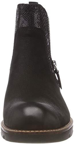 Noir Tamaris Femme 25426 21 98 Chelsea Bottes Comb Black 1Pqp1w