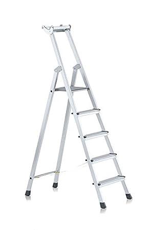 Zarges LM-niveles-escalera{5} niveles Z500: Amazon.es: Bricolaje y herramientas