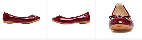 Opsun Uk Ballet 9 Red Size Flats Women's rBqnTr