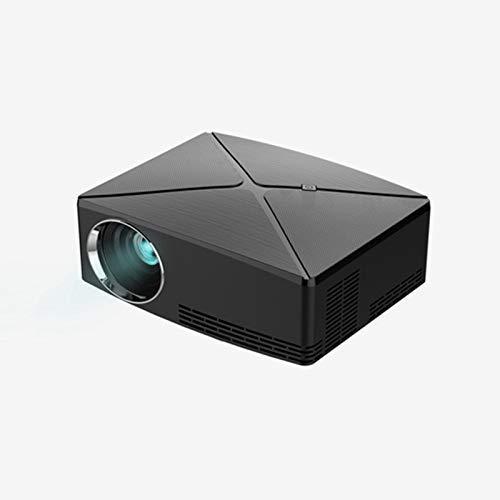 Nfudishpu Proyector portátil HD, 4K Home Theater LED Proyector 3D ...