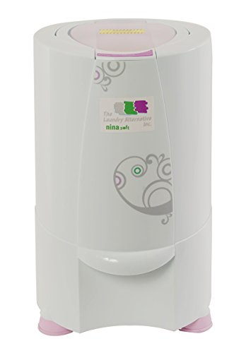 The Laundry Alternative - Nina Soft Spin Dryer - (Dries Clothes in only 3 Minutes)