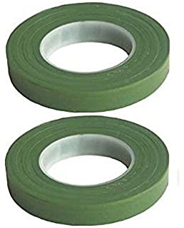 Treely 4Pcs Floral Tape Stem Wrap Green 1//2 Inch x 30 Yards