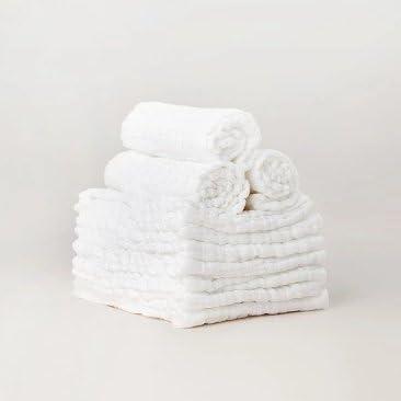 Inovey Original Xiaomi BEVA - 10 pañales reutilizables de algodón para bebé recién nacido: Amazon.es: Hogar