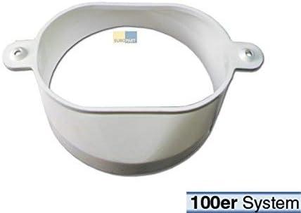 Adaptador de aire de escape ovalado/100er?para manguera de aire de escape del secador 00074816: Amazon.es: Grandes electrodomésticos
