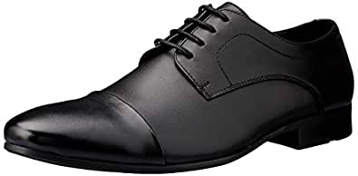 Windsor Smith Men's Bulk Dress Shoe, Black, 10 AU