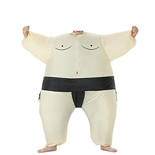 YUJUAN Sumo Wrestler Inflatable Halloween Costume Party Performance Uniform Clothes Kids ()