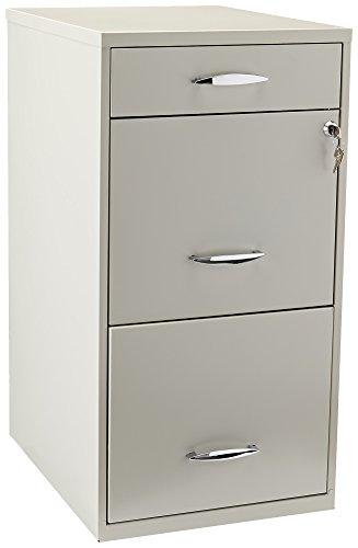 hirsh file cabinet 3 drawer steel - 8