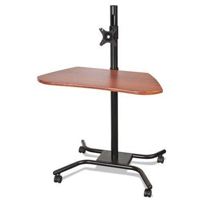 """Price comparison product image Balt WOW Flexi-Desk Mobile Modular Workstation,  46.5"""" H x 31.5"""" W x 26.5"""" D,  Cherry Woodgrain,  (90329)"""