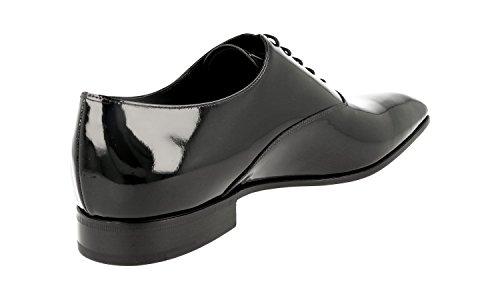 Prada Hommes 2ea116 069 F0002 Chaussures Daffaires En Cuir