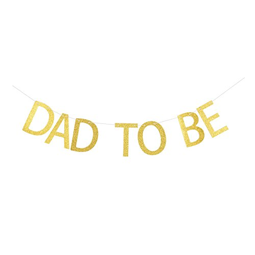 Dad to Be Banner, Baby Announcement/Gender Reveal Party Sign Photo Props Decorations