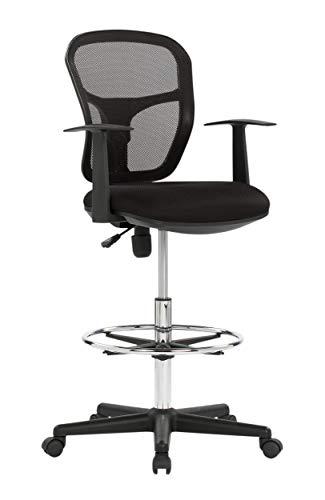 - Studio Designs Riviera Drafting Chair, Black