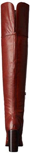 Frye Womens Claude Otk Pelle Slouch Boot Redwood
