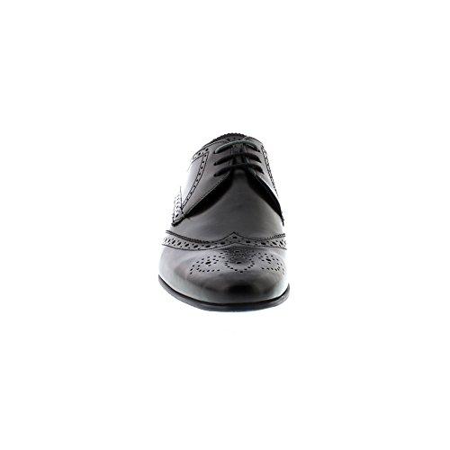 Ted Baker Hosei - Chaussures En Cuir Noir Pour Homme