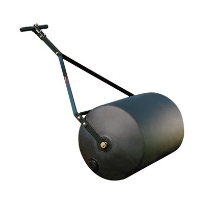 Brinly PRC-24BH 270-Pound Combination Push/Tow Poly Lawn Roller, 18 by 24-Inch (Tow Roller)