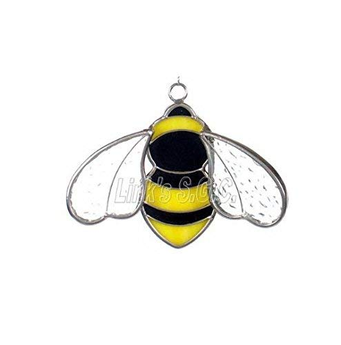 Stained Glass Bee Sun Catcher ()