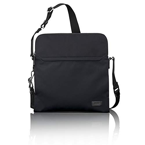 TUMI - Harrison Stratton Crossbody Bag - Messenger Bag for Men and Women - Black ()