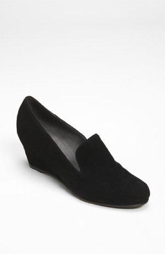 (Stuart Weitzman Womens Arise Black Suede Wedge Heels Shoes Size 9 N, AA)