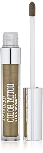 Maybelline Color Tattoo Eye Chrome Eyeshadow, Khaki Kool, 0.