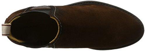 G480 Lydia Brown Chelsea Marrón Botas Sienna Mujer para Gant Zn8w0dvx0