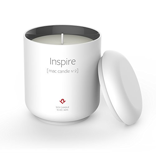 Twelve South Inspire: Mac Candle No. 2 | Limited edition candle in an Apple-inspired vessel