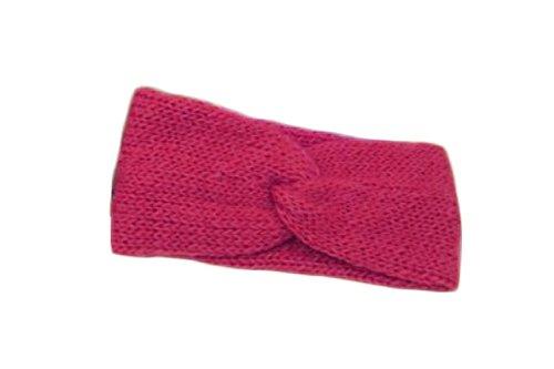 World Finds Cross Over Headband Hot Pink