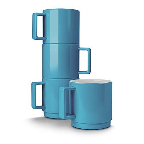 Blue Mug Stacking (Zeal G259A Mug, Aqua)