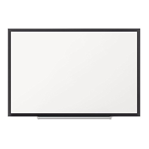 Classic Magnetic Whiteboard, 36 X 24, Black Aluminum Frame By: Quartet by Office Realm