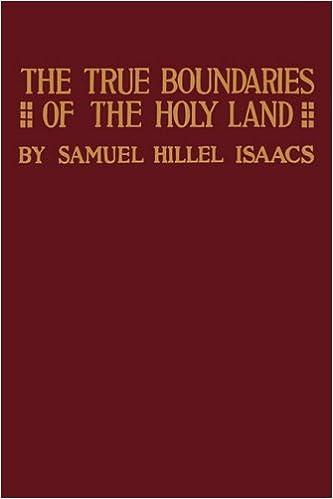 Utorrent Descargar Español True Boundaries Of The Holy Land As Described In Numbers Xxxiv: 1-12 Leer Formato Epub