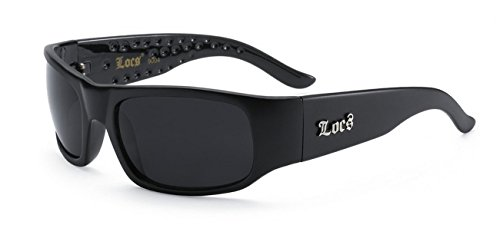 LOCS Super Dark Sunglasses - Super Sensitive Sunglasses For Eyes Dark