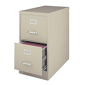 factory price 93dbe 0cc57 2-Drawer Commercial Letter Size File Cabinet Finish: Putty
