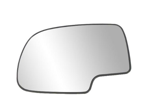 Fit System 88058 Driver Side Non-heated Replacement Mirror Glass with Backing ()