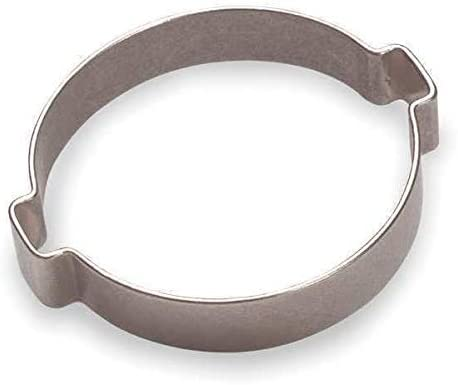 15100009-100 Hose Clamp 5//8 in Nom.Size SS PK100