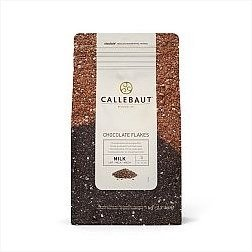 Callebaut Chocolate Flakes Milk Small 2.2lbs by Callebaut (Image #1)