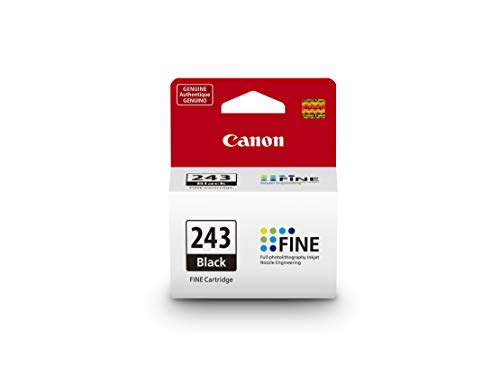 CanonInk 1287C001 Canon PG-243 Black Cartridge, Compatible to MX492, MG3020, MG2920,MG2924, iP2820, MG2525 and ()