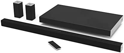 VIZIO SB4051-D5 Smartcast 40 5.1 Slim Sound Bar System, Black