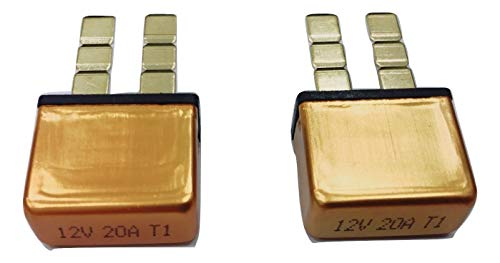 - PHOTO-TOP 5A-30A, Automotive Circuit Breaker, Plug In Mounting, ATC Blade Type Terminal Connection (2 pcs)